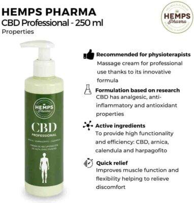 CBD Professional Hemps farma cbd tienda online cbd