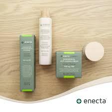 la crema facial de enecta con cannabidiol de alta calidad antiarrugas