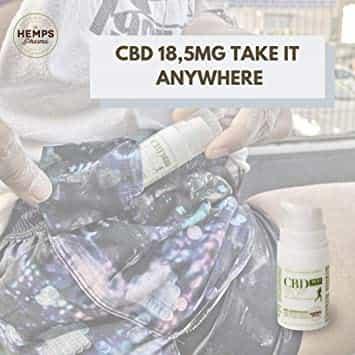 cbd professional con 18,5 mg de cannabidiol