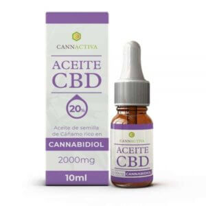 Cannactiva Aceite 20% cannabidiol