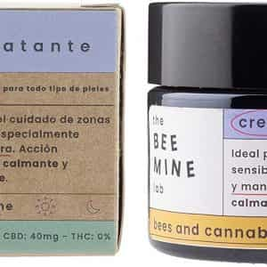 crema de cannabidiol con miel the bee mine lab cannabis medicinal