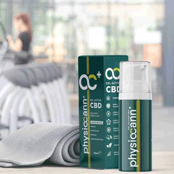 Physiocann Gel es una crema pensada para fisioterapeutas pero muy usada por particulares