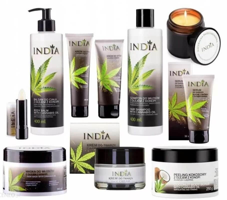 India Cosmetics marca cbd
